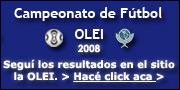 Torneo de Fútbol OLEI 2008.