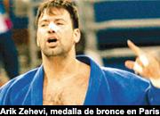 Arik Zehevi, medalla de bronce enPar�s.